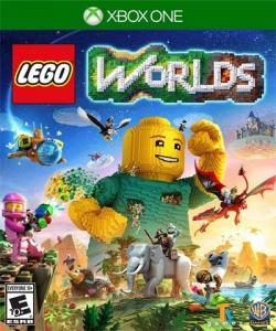 بازی lego worlds برای XBOX ONE