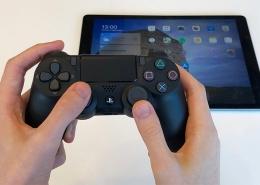 آموزش وصل کردن کنترلر PS4 به iPad