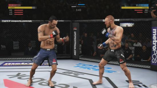 اکانت ظرفیت هوم بازی UFC 3 برای XBOX ONE